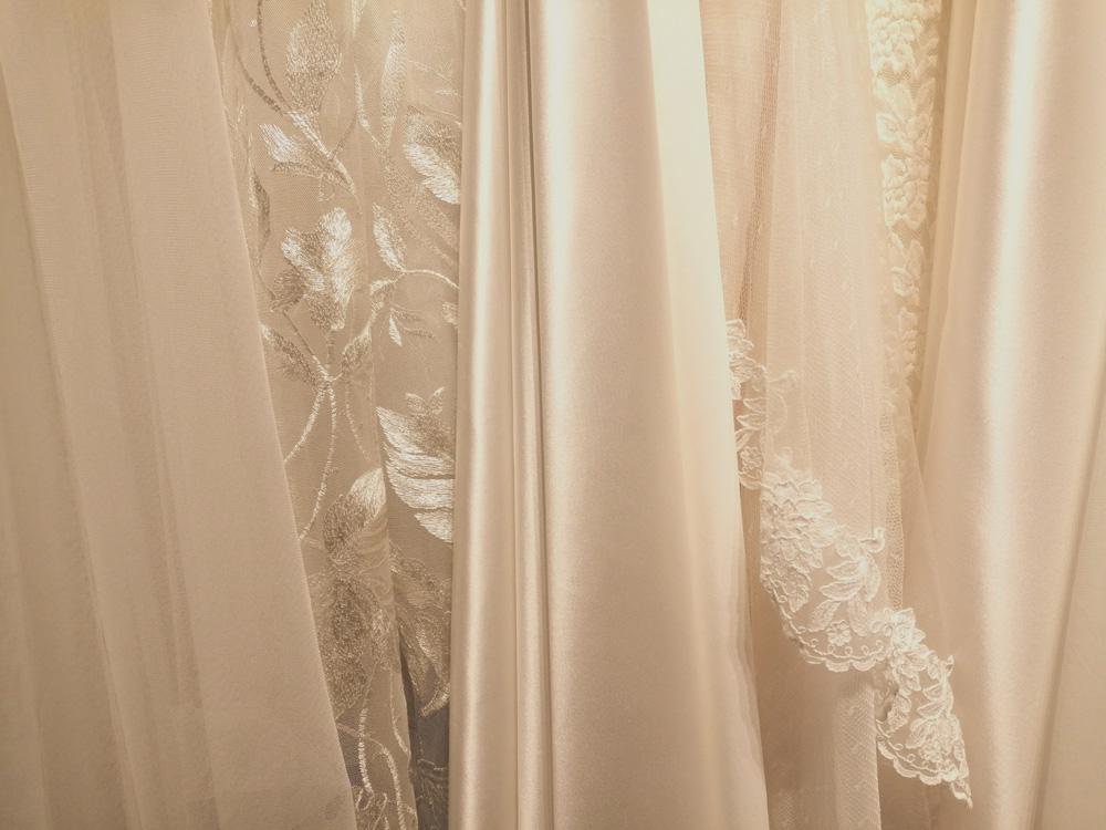 Edle Stoffe aus aller Welt Brautkleid Leipzig